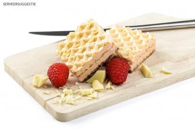 Mini-wafel framboos
